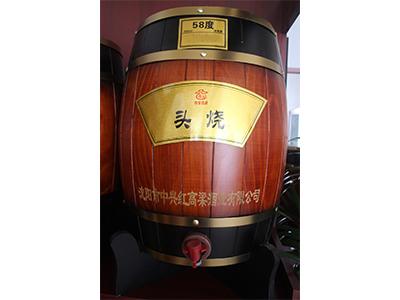北京清香型散白酒-58度头烧