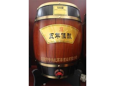 北京窖香型散白酒-50度五年佳酿