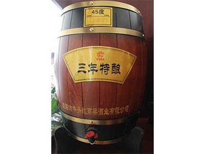 北京浓香型散白酒-45度三年特酿