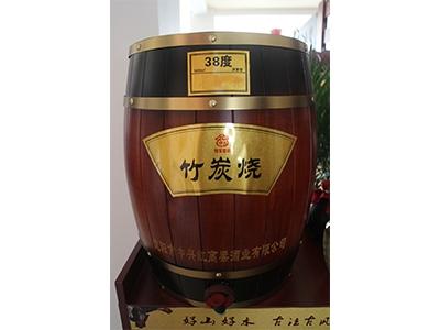 山东清香型散白酒-38度竹炭烧